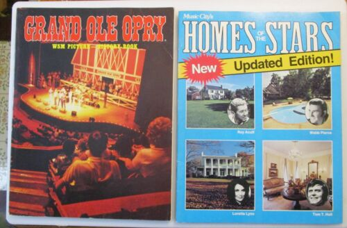 Grand Ole Opry 1984 WSM Picture History Book & Music City
