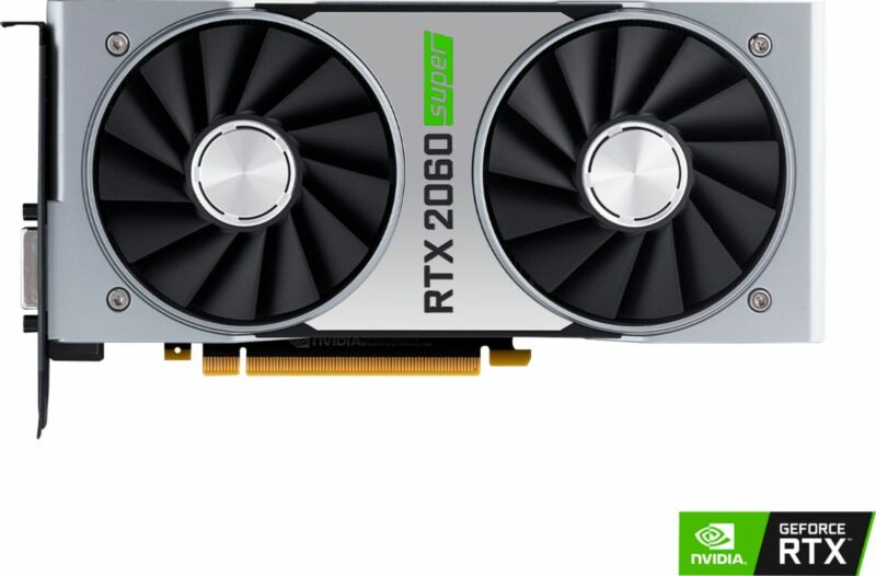 NVIDIA - GeForce RTX 2060 SUPER 8GB GDDR6 PCI Express Graphics Card - Black/S...