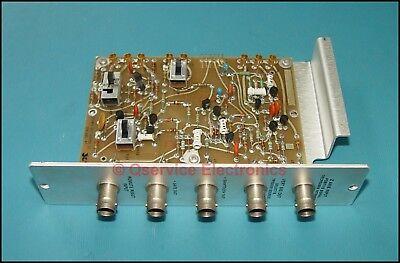 Tektronix 670-1886-01 Signal In-out Board 7704a 7000 Oscilloscope Frame