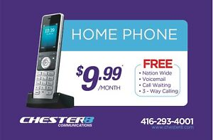 HOME PHONE SERVICE - lowest reliable service