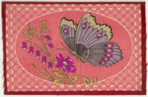 Colorful Butterfly Tobacco Felt #2