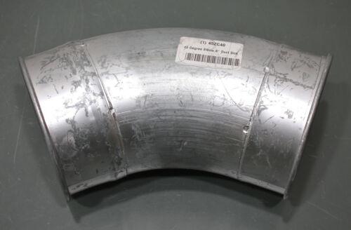 "Nordfab 45° Elbow Duct Fitting 3214-0645-109000, 6"" Round, 14 Gauge, Galvanized"