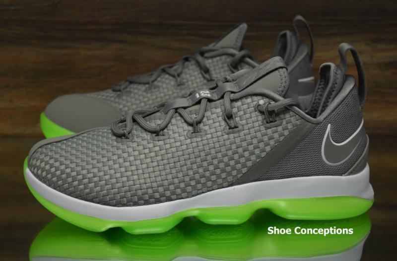 best authentic 55714 09450 Nike Lebron XIV Low Dust Silver 878636-005 Basketball Shoes Men s Multi Size  ...