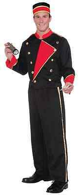 Hollywood Movies Costumes (Movie Usher Vintage Hollywood 20's Retro Fancy Dress Up Halloween Adult)