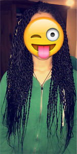 Specialize in Hair braiding & twists.- $100- London Ontario image 2