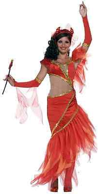 Dancing Salsa Devil Haunted Ballroom Red Fancy Dress Up Halloween Adult Costume