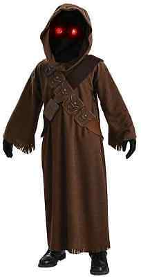 Jawa Star Wars Sand People Tatooine Hooded Fancy Dress Halloween Child Costume](Jawa Halloween Costume)