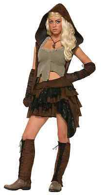 Rogue Halloween Costumes (Rogue Warrior Medieval Fantasy Game Thrones Fancy Dress Halloween Adult)