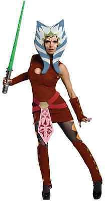 Ahsoka Tano Snips Star Wars Clone Jedi Knight Dress Up Halloween Adult (Ahsoka Jedi Kostüm)