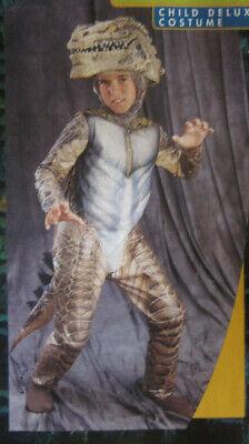 Vintage Child's Deluxe Godzilla Costume, Kids size 4-7 TOHO 1998 by Disguise - Baby Godzilla Costume