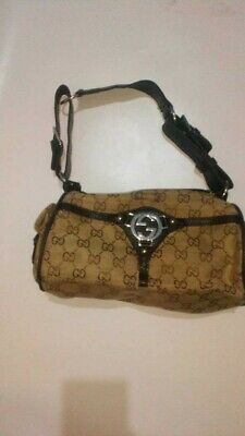 Gucci Hand Bag vintage light brown