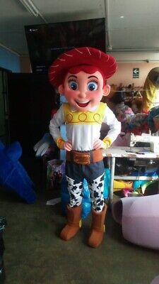 Jessie Cowgirl Toy Story Mascot Costume Party Character Birthday Halloween