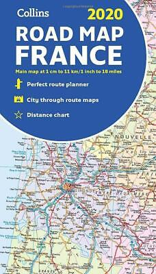 2020 Collins Map of France by Collins Maps