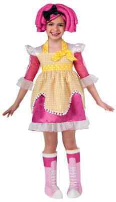 Crumbs Sugar Cookie Lalaloopsy Fancy Dress Up Halloween Deluxe Child Costume - Lalaloopsy Baby Crumbs