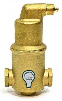 Spirotherm Vjr075-tm Spirovent Junior Npt .75 Threaded Air Eliminator 34