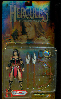 XENA DOLL - HERCULES - XENA 2 WARRIOR DISQUISE - RED OUTFIT (Xena Outfit)