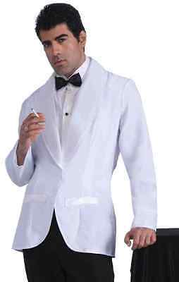 Vintage Hollywood Jacket Bogart Bond White Tux Halloween Adult Costume (Bogart Kostüm)