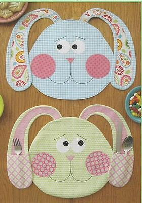 All Ears Applique Placemat Quilt Pattern By Susie C. Shore Designs - $8.50