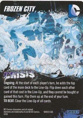 Frozen City Dc Comics Deck Building Game Card Crisis 2