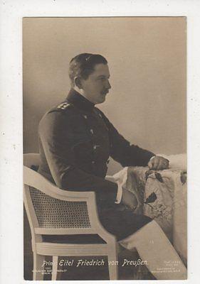 Prinz Eitel Friedrich Von Preussen Vintage RP Postcard Germany Royalty 038b