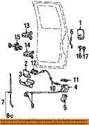 Ford Rear Door Cable