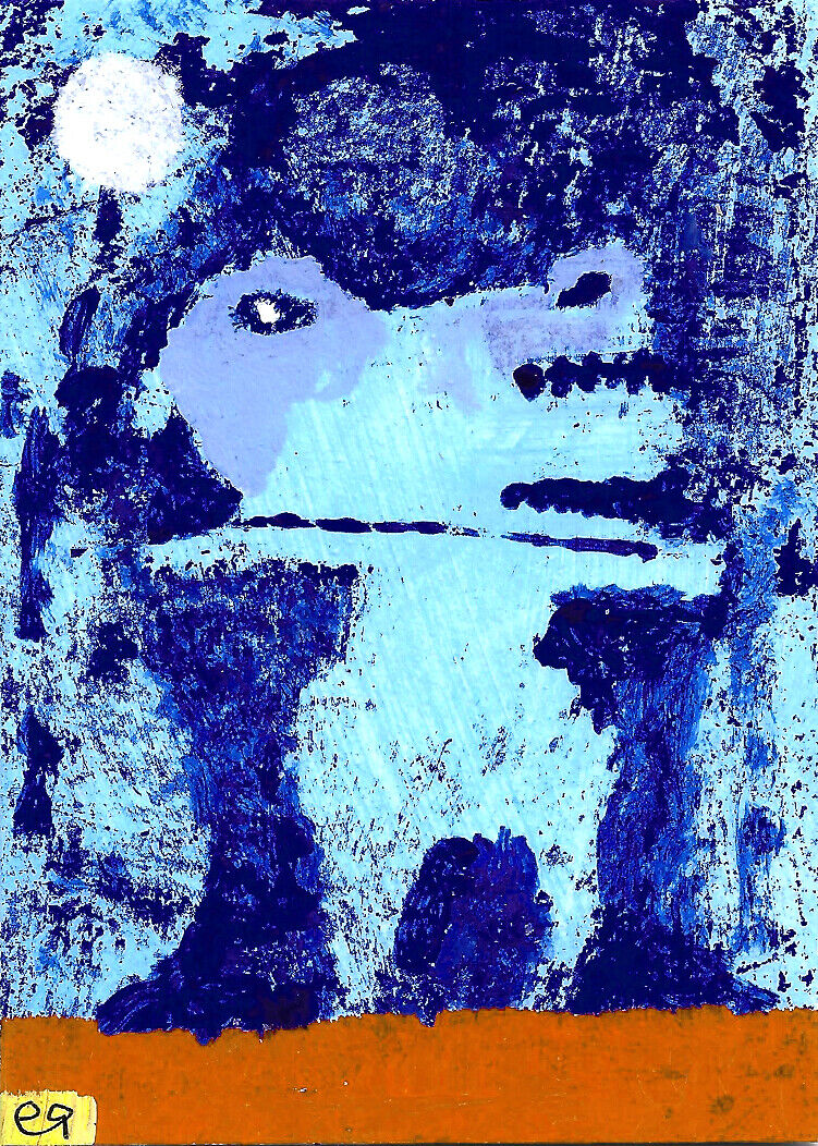 That Sudden Need To Get As Far Away From Reality As Possible E9Art ACEO Art ATC - $29.95