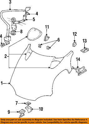 Dodge CHRYSLER OEM 94-02 Viper Hood-Lock Latch Striker 5245045AB
