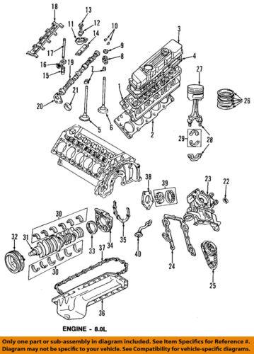 Dodge Chrysler Oem 94-03 Ram 3500-engine armónica Balancer 53020776ab   eBayeBay