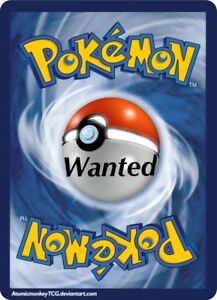 WANTED: Pokemon card collections