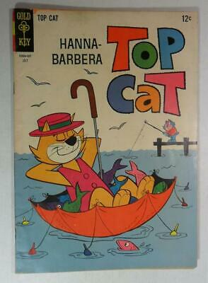 2 TOP CAT GOLD KEY COMICS #9 1964 #15 1965 HANNA BARBERA CARTOON VG 4.0