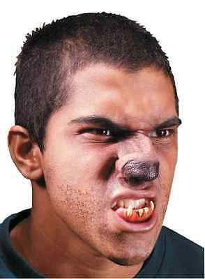 Wolf Nose Werewolf Animal Dress Up Halloween Costume Makeup Latex Prosthetic