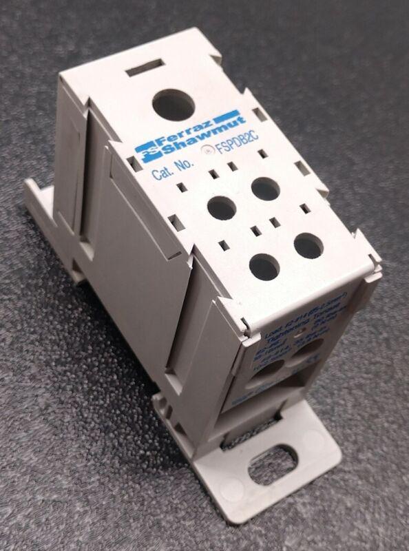 Ferraz Shawmut FSPDB2C Power Distribution Block 600V, 175A, CU7 2/0-14 AWG