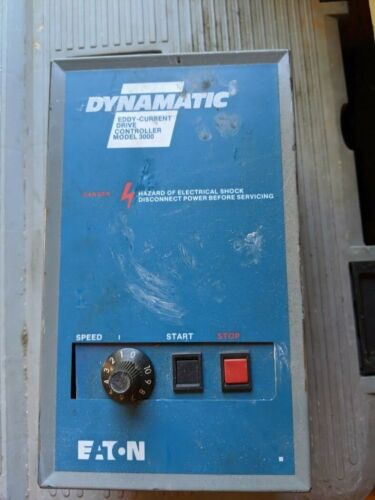 Eaton Dynamatic Eddy-Current Drive Controller model 3000