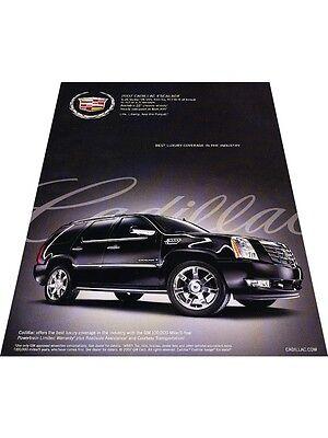 2007 Cadillac Escalade - Best Luxury - Vintage Advertisement Car Print Ad