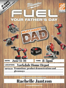 Milwaukee Father's Day Event