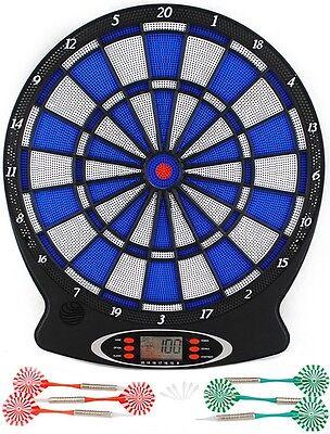Elektronische Dartscheibe Dartboard Dart inkl. 6 Pfeile Dart Spiel #803