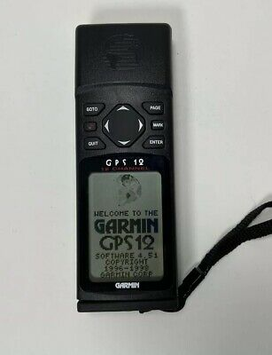Garmin GPS 12 Handheld Personal Navigator Global Positioning System