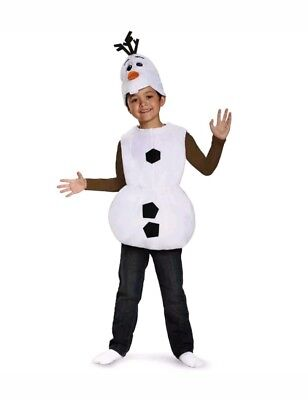 Disney Frozen OLAF Child Halloween Costume, Size Small (6) by Disguise ](Olaf Halloween Costume Kids)