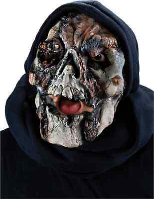 Jolly Roger Skull Pirate Zombie Ghost Halloween Costume Makeup Latex Prosthetic