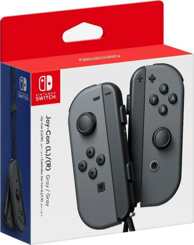 Joy-Con (L/R) Wireless Controllers for Nintendo Switch - Gray