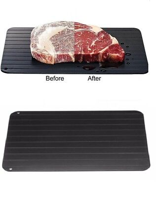 Fast & Easy Defrosting Meat Tray - Rapid Thawing Tray for Frozen Food - Trays For Food