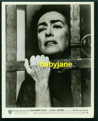 Joan Crawford Vintage 8X10 Photo 1962 What Ever Happened To Baby Jane