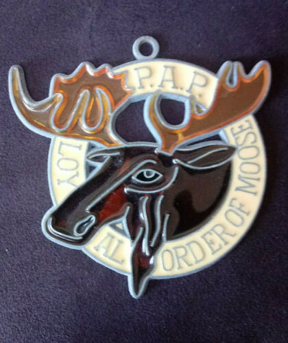 Loyal Order of Moose  P. A. P. Stained Glass Sun Catcher