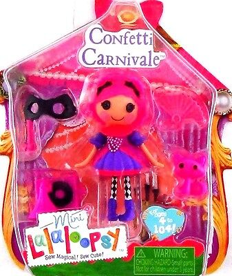NEW! Mini Lalaloopsy Figure Doll Series Confetti Carnivale Costume Accessories  - Popeye Costume Accessories