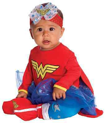 Wonder Woman DC Comics Superhero Fancy Dress Up Halloween Baby Child Costume