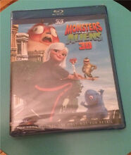 Monsters VS Aliens 3D Bluray DVD - BNIP Tullamarine Hume Area Preview