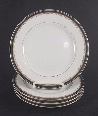 Christopher Stuart UNIVERSITY BLACK - Salad Plates 7 5/8