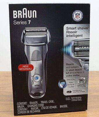 Braun 7893s Series 7 Mens Wet & Dry Electric Spoil someone's game Razor Shaver Waterproof