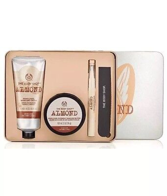 The Body Shop ALMOND HAND AND NAIL MANICURE GIFT SET £34