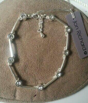 Jon Richard 925 Silver Bracelet new With Tags